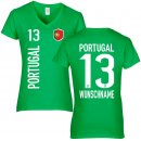 Damen Fan-Shirt - PORTUGAL -