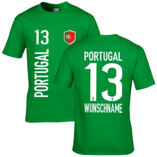 Herren Fan-Shirt - PORTUGAL -
