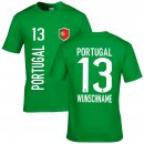 Kinder Fan-Shirt - PORTUGAL -