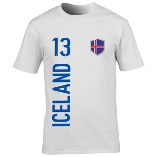 Kinder Fan-Shirt - ICELAND -