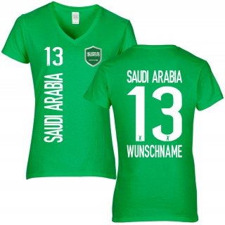 Damen Fan-Shirt - SAUDI ARABIA -