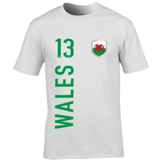 Kinder Fan-Shirt - WALES -