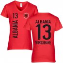 Damen Fan-Shirt - ALBANIA -