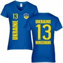 Damen Fan-Shirt - UKRAINE -