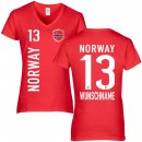 Damen Fan-Shirt - NORWAY -