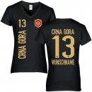 Damen Fan-Shirt - CRNA GORA -