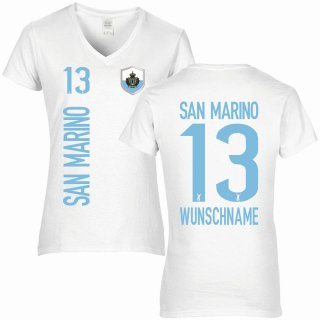 Damen Fan-Shirt - SAN MARINO -