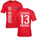 Kinder Fan-Shirt - LIECHTENSTEIN -