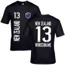 Kinder Fan-Shirt - NEW ZEALAND -