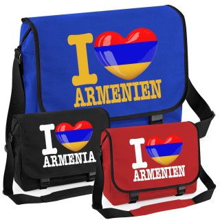 Messenger Bag - I LOVE ARMENIEN