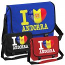 Messenger Bag - I LOVE ANDORRA