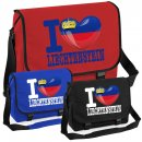 Messenger Bag - I LOVE LIECHTENSTEIN