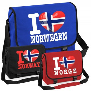 Messenger Bag - I LOVE NORWEGEN
