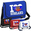 Messenger Bag - I LOVE RUSSLAND