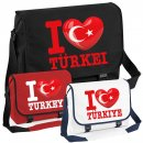 Messenger Bag - I LOVE TÜRKEI -