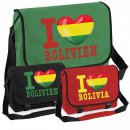 Messenger Bag - I LOVE BOLIVIEN