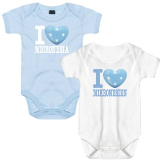 Baby Body - I LOVE MIKRONESIEN -