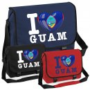 Messenger Bag - I LOVE GUAM -