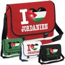 Messenger Bag - I LOVE JORDANIEN -