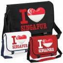 Messenger Bag - I LOVE SINGAPUR