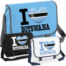 Messenger Bag - I LOVE BOTSWANA -