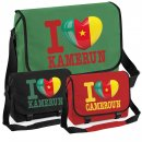 Messenger Bag - I LOVE KAMERUN