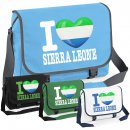 Messenger Bag - I LOVE SIERRA LEONE -