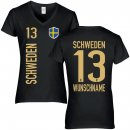 Damen Fan-Shirt - SCHWEDEN -