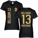 Damen Fan-Shirt - BELGIUM -