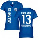 Damen Fan-Shirt - ENGLAND -