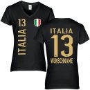 Damen Fan-Shirt - ITALIA -