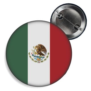 Button - MEXIKO - Fahne